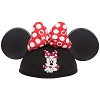 Disney Hat - Ears Hat - Minnie Polka Dot Bow