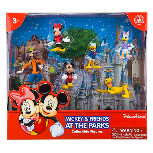 Disney Figurine Set Mickey Mouse And Pals Goofy Pluto