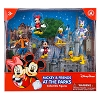 Disney Figurine Set - Mickey Mouse and Pals Goofy Pluto Minnie Donald