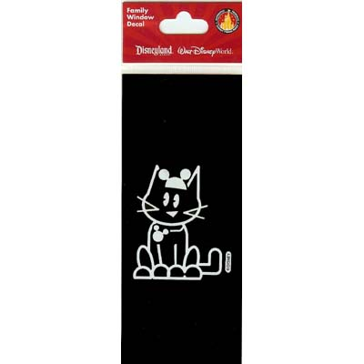 7bf335fece9 Add to My Lists. Disney Window Decal - Little Cat with Mickey Icon