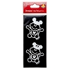 Disney Window Decal - Baby Boy and Girl with Mickey Ears