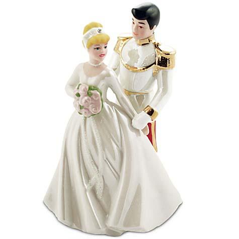 disney cake topper cinderella amp prince wedding porcelain