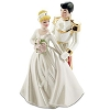 Disney Cake Topper - Cinderella & Prince Wedding Porcelain Figure