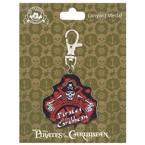 Disney Lanyard Medal - Pirates of the Caribbean - At the Wheel