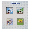 Disney 4 Pin Booster Set - Comic Strip - Mickey and Friends