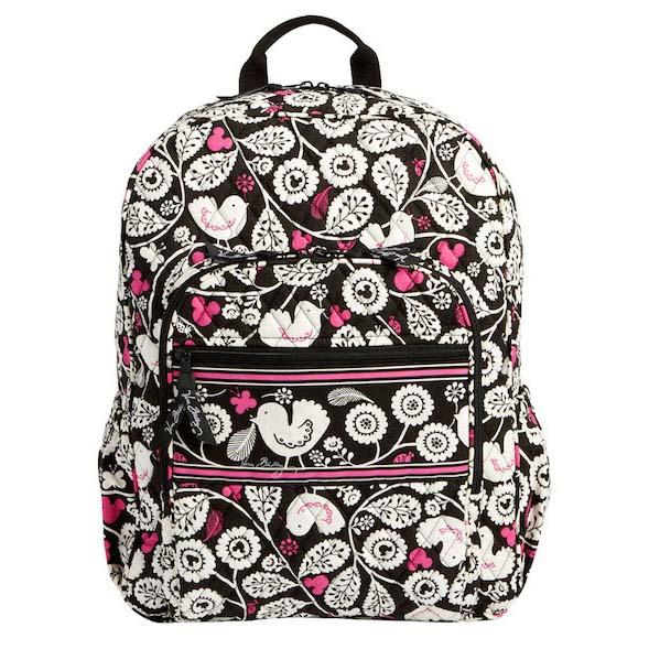 Disney Vera Bradley Bag - Mickey Meets Birdie - Campus Backpack