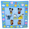 Disney 7 Pin Booster Set - Mickey & Friends Cutie Characters