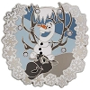 Disney Winter Pin - Olaf and Sven