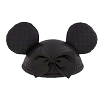 Disney Ears Hat - Quilted Fashion - Black
