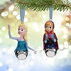 Disney Christmas Ornament Set - Anna and Elsa Jingle Bells