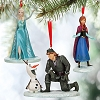 Disney Holiday Ornament Set - Frozen - Limited Edition 700 - D23