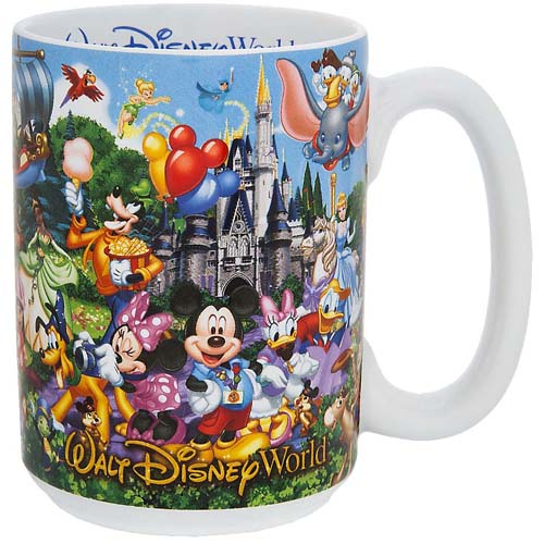 Disney Coffee Cup Mug Storybook Attractions Mom