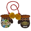 Disney Resort Holidays Pin - 2015 Wilderness Lodge - Chip n Dale