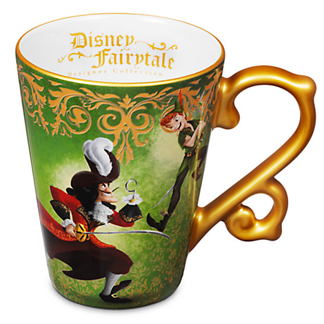 Coffee Fairytale Cup Disney CaptHook Collection Panamp; Peter xWBCerdo