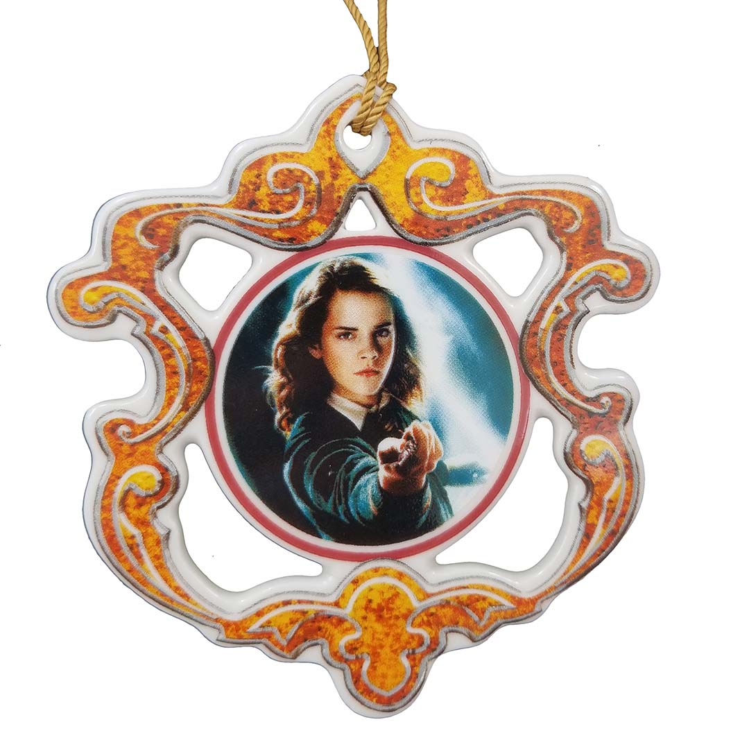 Universal Disc Ornament - Wizarding World of Harry Potter - Hermione