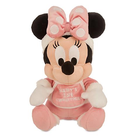 Disney Plush Baby Minnie Baby S First Christmas