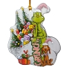 Universal Disc Ornament - Dr. Suess - Grinch! and Max Stealing Christmas