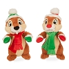 Disney Christmas Plush - Happy Holidays 2015 - Santa Chip & Dale