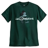 Disney Adult Shirt - Santa Mickey Mouse - Dark Green