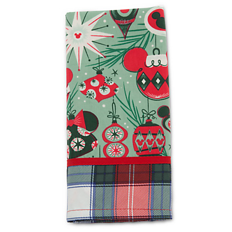 Disney Holiday Napkin - Retro Mickey and Minnie