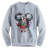 Disney Adult Sweatshirt - Nightmare Sandy Claws & Friends