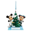 Disney Holiday Ornament - Mickey and Minnie Epcot Tree