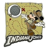 Disney Hollywood Studios Pin - Mickey Mouse as Indiana Jones