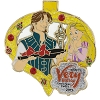 Disney Very Merry Christmas Party Pin - 2015 Rapunzel and Flynn