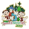Disney Spectacle of Dancing Lights Pin - 2015 Mickey and Minnie