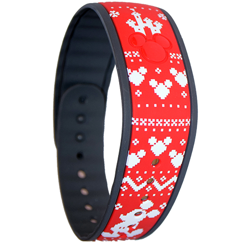 Disney Magicband Bracelet - Christmas Mickey Holiday Sweater