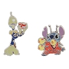 Disney Stitch 2-Pin Set - Stitch and Pleakley