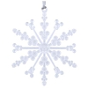 Disney Christmas Ornament - Snowflake w/Mickey Icons - Iridescent 2