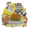 Disney Happy Thanksgiving Pin - 2015 Percy and Meeko