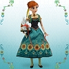 Disney Doll - Frozen Fever - Limited Edition Anna Doll - 17''