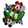 Disney Mickey and Minnie Pin - Four Parks Spinner