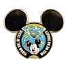 Disney Mickey Pin - What In the World Will We Do Today?