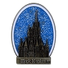 Disney Magic Kingdom Pin - Cinderella Castle Glitter Sky