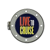Disney Cruise Line Pin - Live to Cruise - Mickey and Minnie Mouse