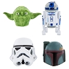 Disney Antenna Topper Ball - Star Wars Set - Yoda Boba Fett R2-D2