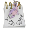 Disney Figment Pin - From the Sketch Pad - Figment