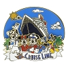 Disney Cruise Line Pin - Mickey and Friends on Pier