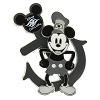 Disney Cruise Line Pin - Steamboat Willie and Anchor