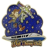 Disney Toy Story Pin - Buzz and Woody Monorail