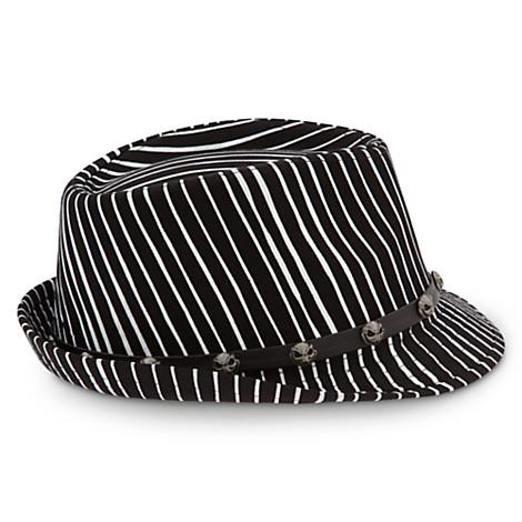 ec4378ed9 Disney Hat - Fedora Hat - Jack Skellington - Stripes