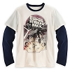 Disney Adult Shirt - Star Wars - Empire Strikes Back Double-Up