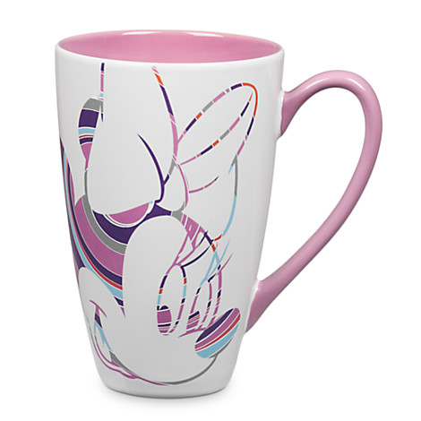 Disney Coffee Cup Mug Minnie Mouse Shapes