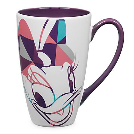 Disney Coffee Cup Mug Daisy Duck Shapes