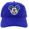 Disney Hat - EPCOT - Mickey Face and Flags Baseball Cap - Blue