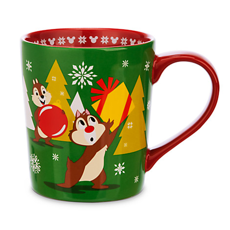your wdw store disney coffee cup mug chip n 39 dale holiday. Black Bedroom Furniture Sets. Home Design Ideas