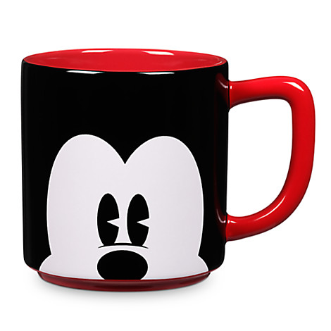 1aa21b034b709 Disney Coffee Cup - Close Up Mickey Mouse